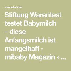 Stiftung Warentest testet Babymilch –diese Anfangsmilch ist mangelhaft - mibaby Magazin » Ratgeber & Testberichte für Eltern