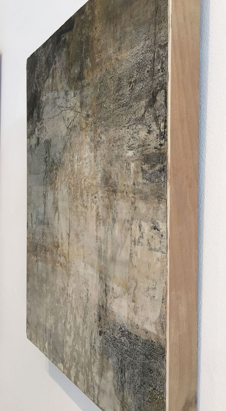 There are almost no words for the subtle and quiet beauty of this work. Rebecca Crowell, with all of her cold wax mastery, has created yet another masterpiece. Ready to hang with wired cradled panel, and ready to find a new home. Certain kinds of landscapes move me, and feel like home to my