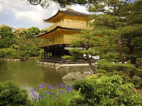 Golden Pavilion/ Kinkakuji-Kyoto