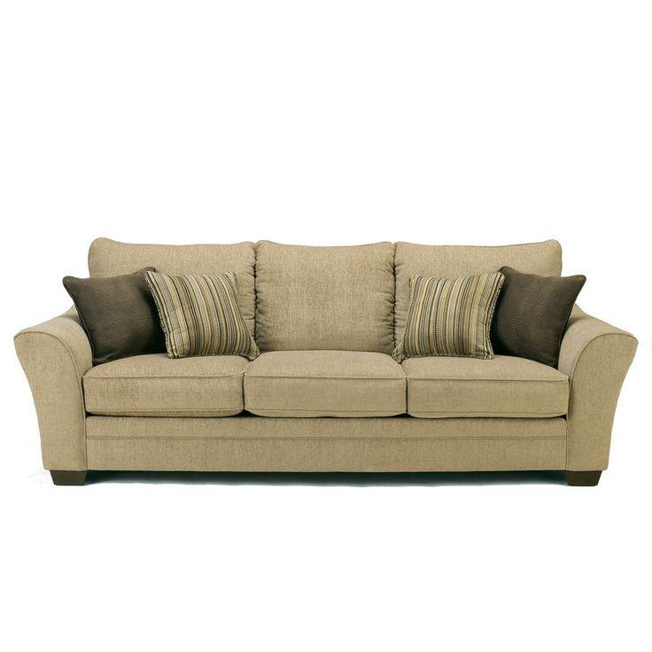 Lena Putty Sofa by Ashley Furniture