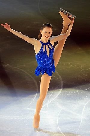I'm a huge fan of anything blue and this shade is so spot on! Sasha Cohen of the U.S. performs during the Figure Skating gala of the Torino 2006 Winter Olympic Games in Turin, Italy, February 24, 2006.I love watching ice skating.Please check out my website thanks. www.photopix.co.nz