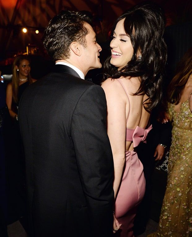 Orlando Bloom and Katy Perry at the Golden Globes 2016 afterparty