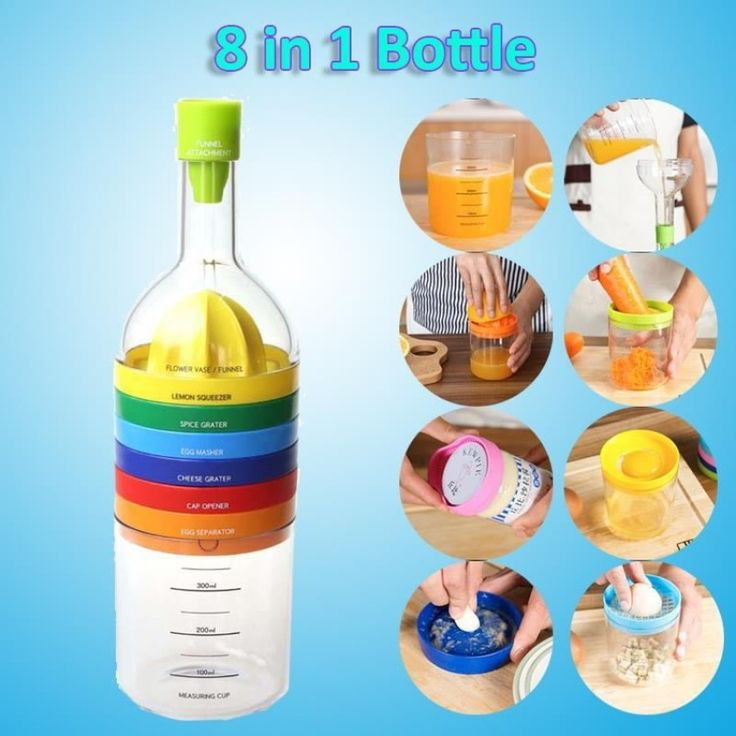 8 in 1 Kitchen Tools Bottle Shape Professional Gadget Grater Squeezer Grinder - intl<BR><BR><BR>shop-kitchen-and-table-linen-accessory<BR><BR>http://www.9mserv.com/detail.php?pid=1390983&cat=shop-kitchen-and-table-linen-accessory