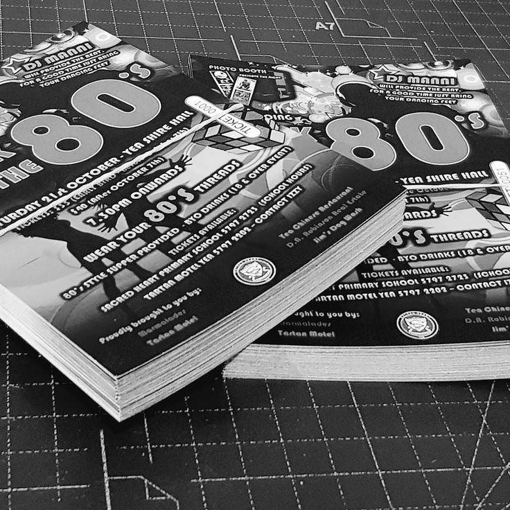 Tickets   NCR   176-200GSM  #tickets #design #print  #fullcolor #fullcolour #digitalprint #cmyk #ball #dance #concert #event #offset #eighties #backto #backtothe80s #backtotheeighties #artboard #ticket #greyscale #designer #80s #80smusic