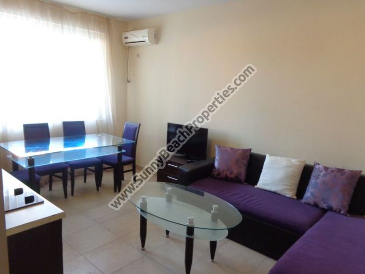 28900€ Furnished 2-bedroom apartment for sale in Azzuro sky 400m. from the beach in Sunny beach - Sunnybeach Properties - Real Estates in Bulgaria. Apartments, Villas, Houses, Land in Sunny Beach, Nesebar, Ravda ...