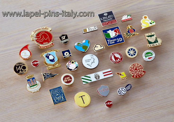 http://www.luxurylapelpins.com Custom Made Lapel Pins and Personalized Badges Made in Italy.