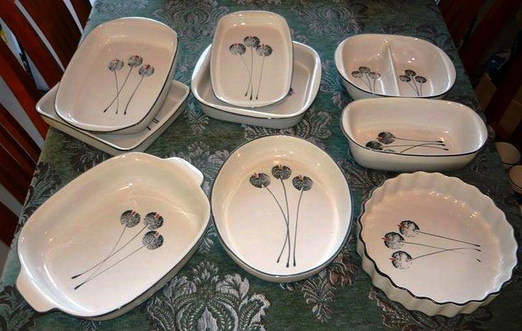 Wild Poppies Baking Dishes