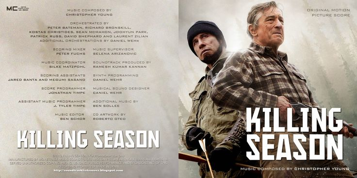 Soundtrack review: Killing season (Christopher Young, 2013)