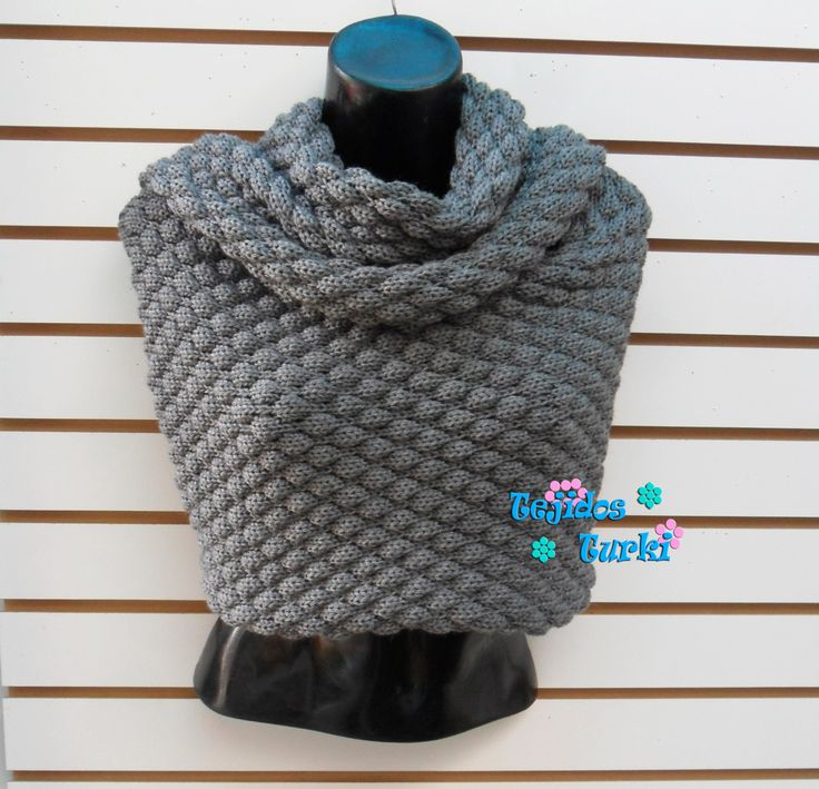 bufanda larga vestida como capa