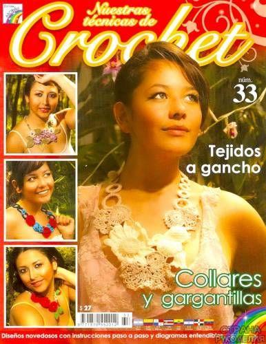 Nuestras tecnicas de Crochet - №33 - 2011 - Украшения(бисер,вязание) - Журналы по рукоделию - Страна рукоделия