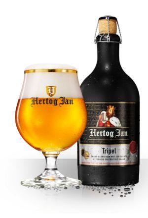 Hertog Jan Tripel // 7.5/10 // @ de Gammele Geit tijdens bierproeverij met Gerard van de Broek