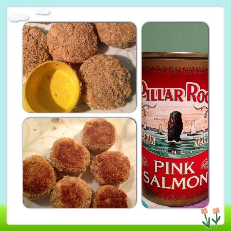Tasty salmon patties
