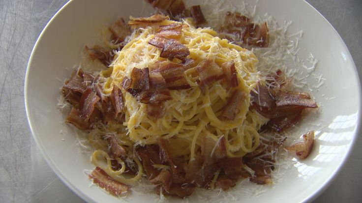 Marco Pierrre White's Amazing and Simple Carbonara