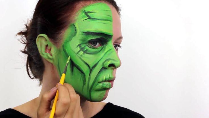 Frankenstein Face Painting Tutorial