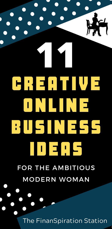 11 Creative Online Business Ideas For Women Online Business