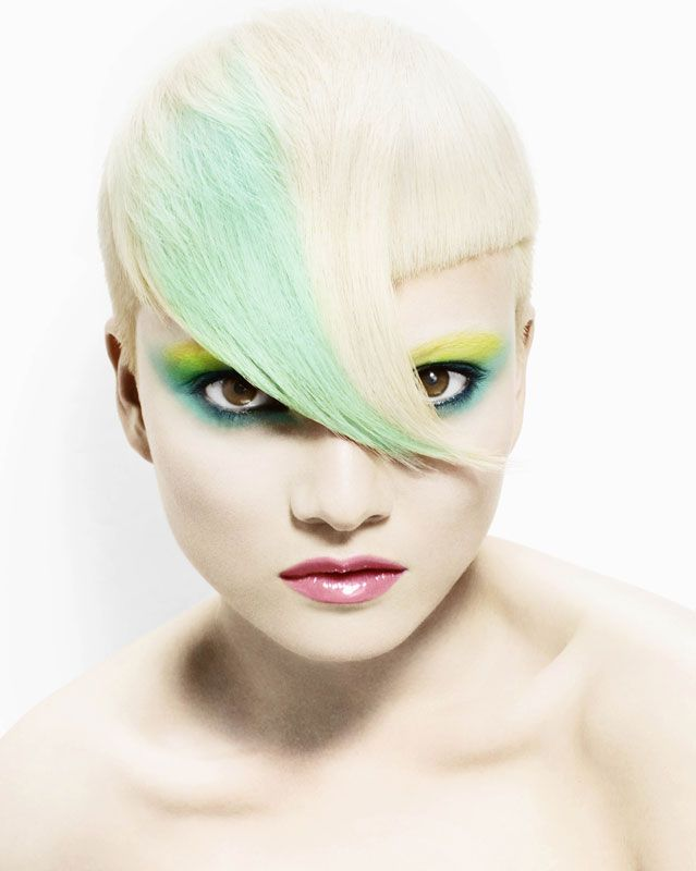 Hair: Darren Bain   Photography: John Rawson   Makeup: Jo Frost & Barrie Griffith   Products: Wella Professionals