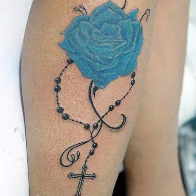 Rosa ter o tatuagem rose tattoo rose blue tatuador for Tattoo santa rosa