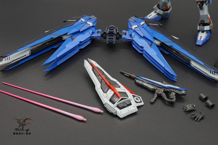 "Custom Build: MG 1/100 Freedom Gundam Ver. 2.0 ""Infinite Dimension Conversion Kit"" - Gundam Kits Collection News and Reviews"