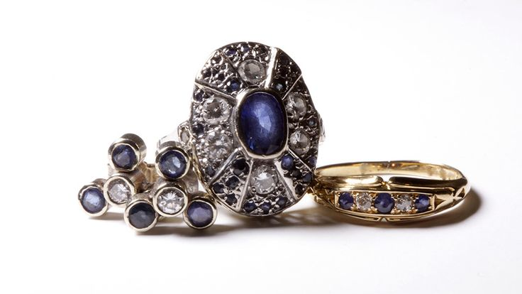 Sapphire, the Gem of the Soul: Custom Crafted Sapphire Jewellery by La Vogue Vintage