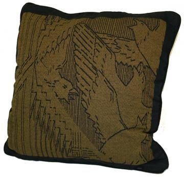 Frank Lloyd Wright Rookery Birds Stuffed Pillow - Decorative Pillows - Home Accents - Home Decor | HomeDecorators.com