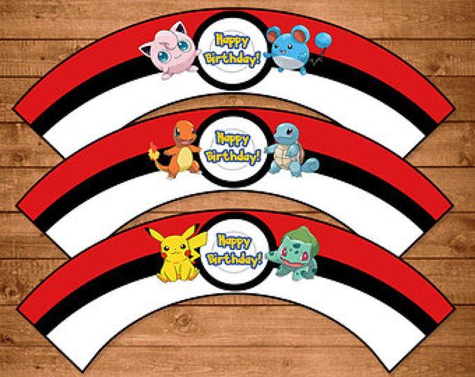 pokemon party printables