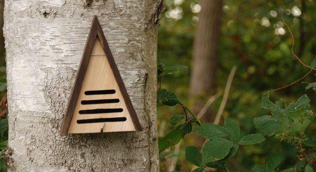 Driehoekig lieveheersbeestjes huis (Esschert Design)