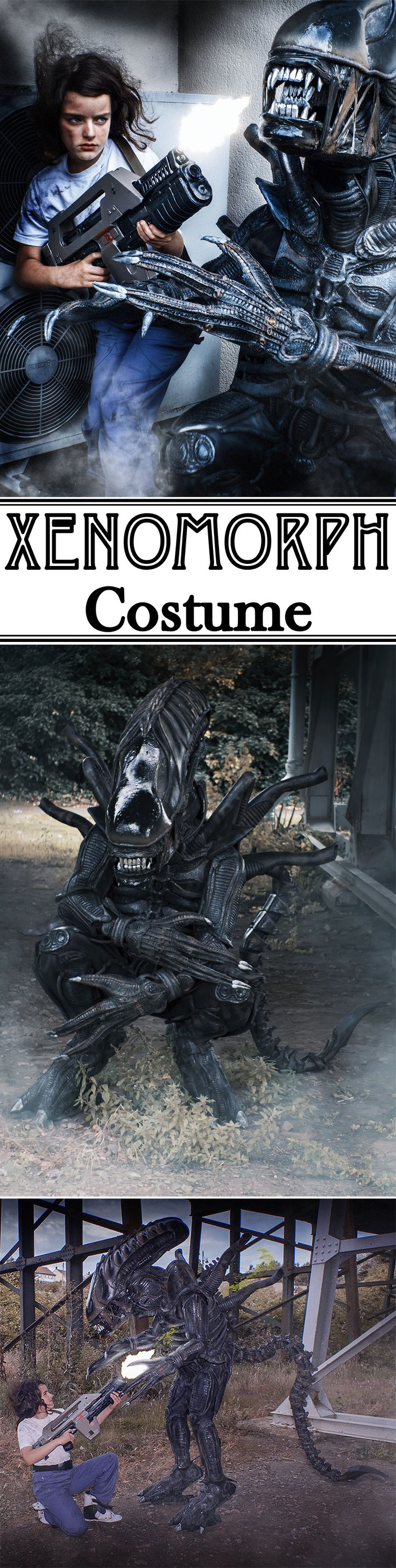 Full-size Xenomorph Alien costume!