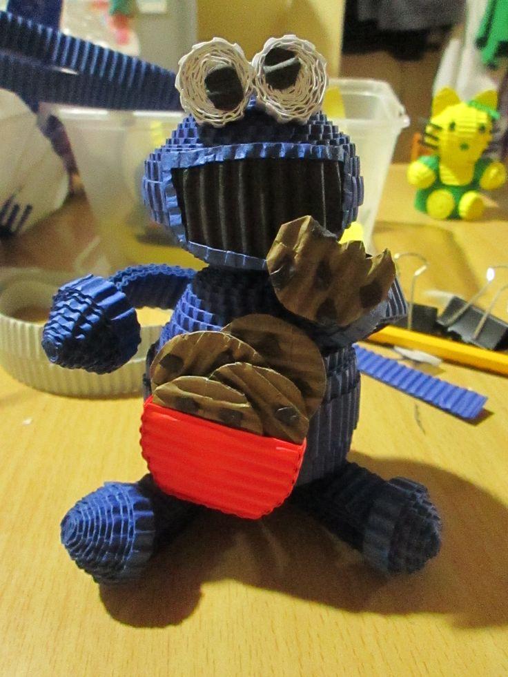 #cookiemonster #kokoru #paperquilling #handmade