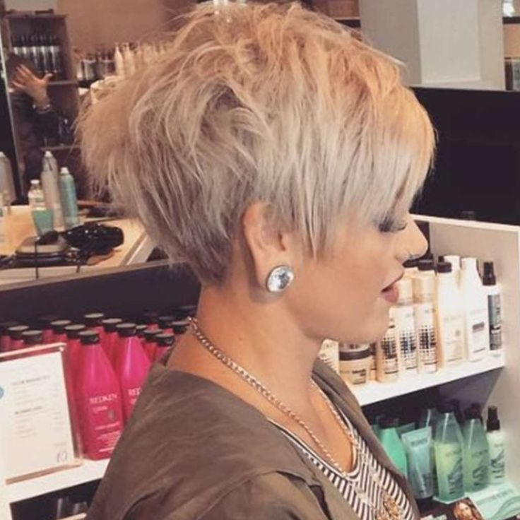 Damen 2017 kurzhaarfrisuren blond Kurzhaarfrisuren Damen