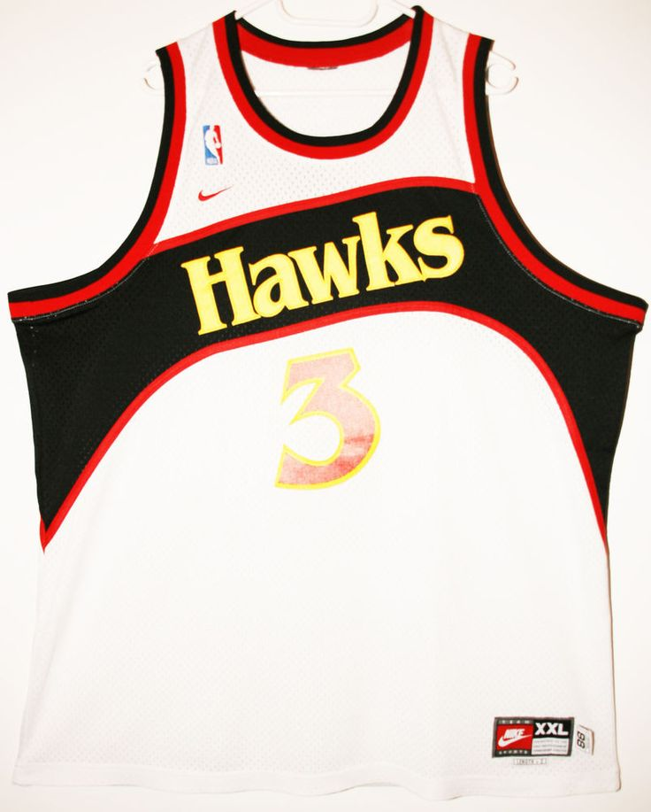 Nike NBA Basketball Atlanta Hawks #3 Abdur-Rahim Shareef Trikot/Jersey Size 52 - Größe XXL - 89,90€ #nba #basketball #trikot #jersey #ebay #etsy #hood #sport #fitness #fanartikel #merchandise #usa #america #fashion #mode #collectable #memorabilia #allbigeverything