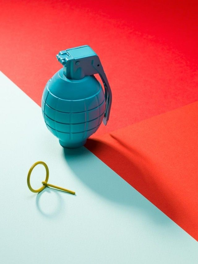 Full Color Objects Composition_6