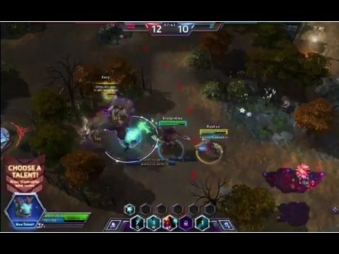 Heroes of the Storm - Brightwing Gameplay #2