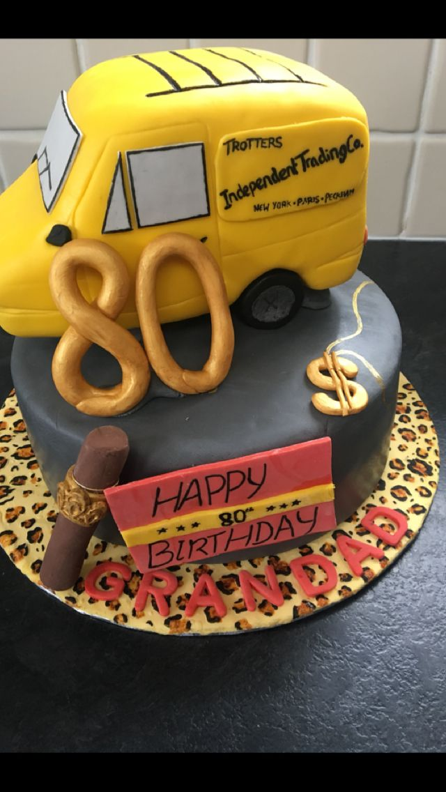 Only fools and horses cake, delboy, 80th