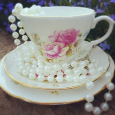 Pretty teacup for afternoon teas www.butterflyivy.weebly.com
