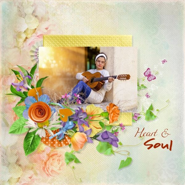 Layout was made with Life Is A Flower by Scrap Angie available at Digidesignresort.  #sa-life_is_a_flower