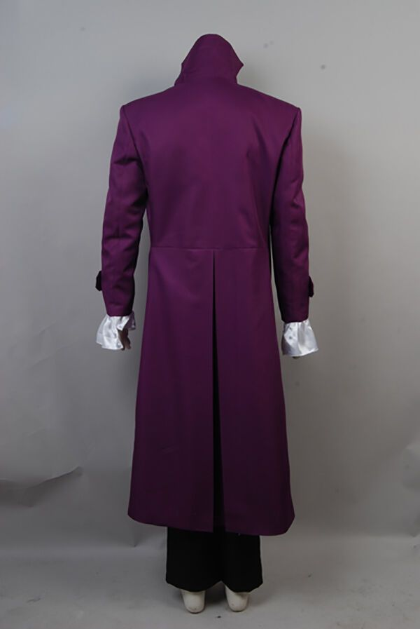 Prince Rogers Nelson Purple Rain Halloween Cosplay Costume Uniform Jacket Suit