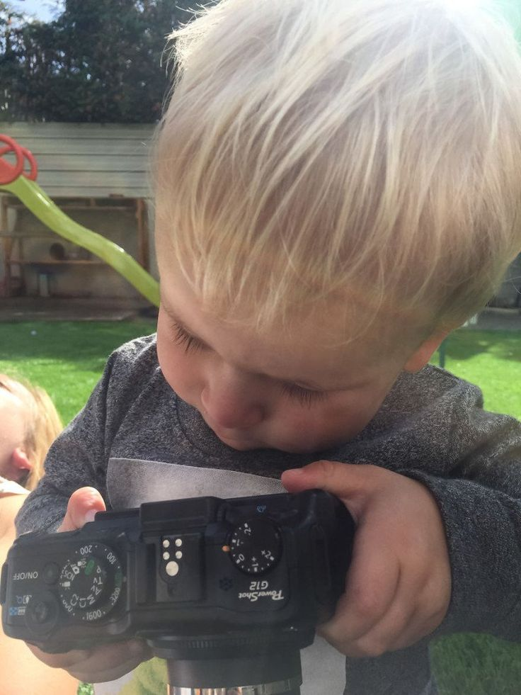 'Deixei minha Canon com meu filho de 1 ano; veja o que aconteceu'