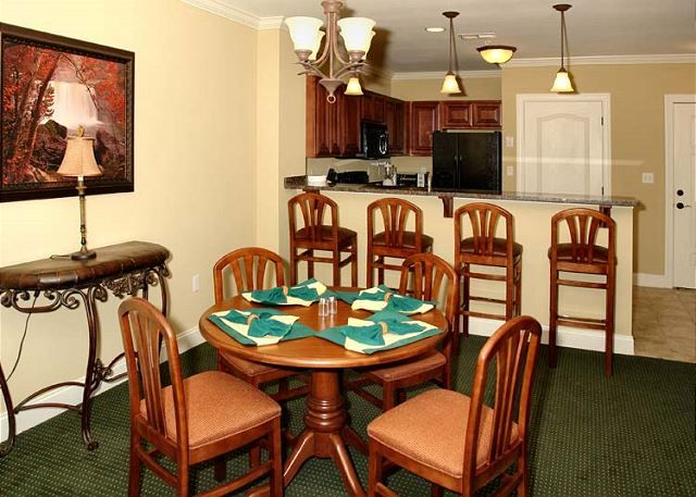 Summit Manor condos have fully equipped kitchens for the family to enjoy meals together