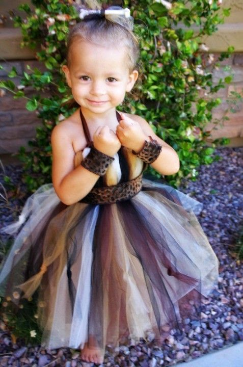 Princess Pebbles/Cave Girl - This could be Kammie's Halloween costume this year :O)