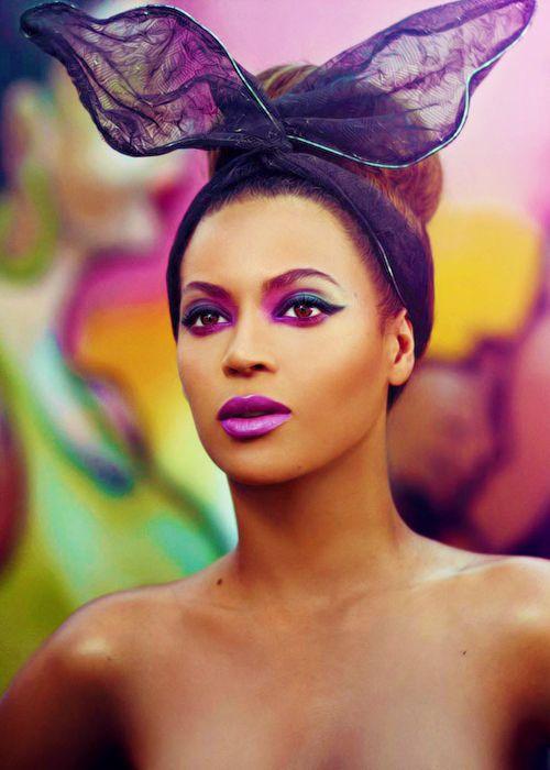 beyonce but make up is dooope regardless brown skin black girls doing it