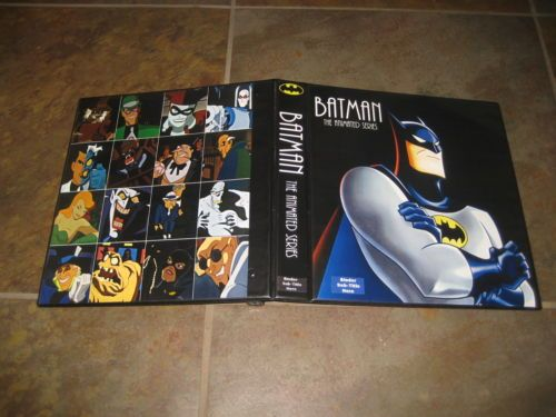 Custom Batman Animated Series Trading Card Album Binder Graphics Only If the sale is over email the seller and they will get it to you! Awesome!