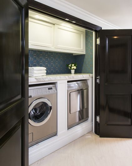 Traditional Laundry Room by M. Wright Design