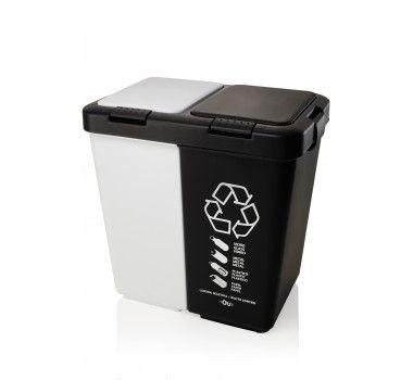 Com uma proposta totalmente diferente de outras lixeiras, aLixeira Duo 20L - Ouvem para facilitar a separação do lixo e ajuda a proteçao ao meio ambiente.É perfeita para escritórios, cozinhas e demais utilidades.  Comprimento. 24 x Largura. 37 x Altura. 36,5cm.  Entrega em até 15 dias úteis.