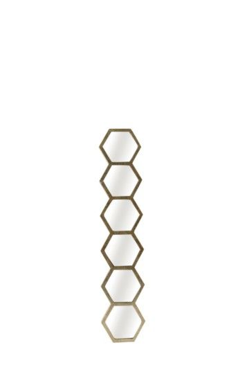 Hexagon Strip Mirror