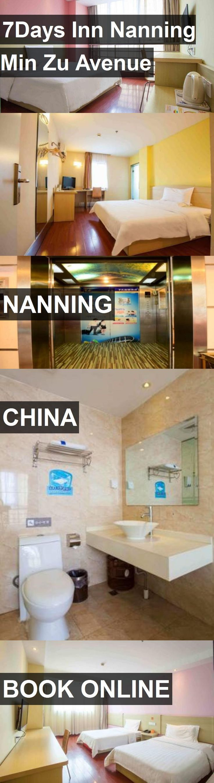 Hotel 7Days Inn Nanning Min Zu Avenue in Nanning, China. For more information, photos, reviews and best prices please follow the link. #China #Nanning #travel #vacation #hotel