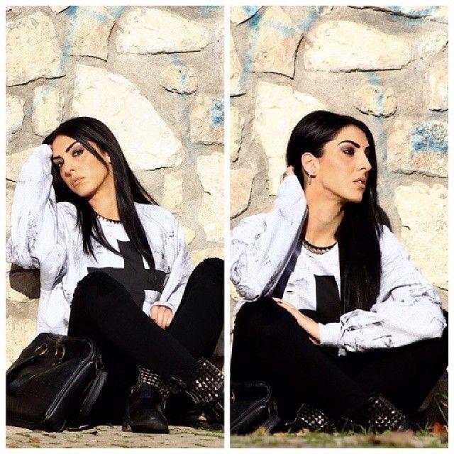 #me #mystyle #lookoftheday #look #cool #instacool #instalike #like #likeforlikes #tagsforlikes #follow #followme #moda #instamoda #fashion #instafashion #instagood #instacollage #outfit #instaoutfit #lookoftheday #ragazzeitaliane #italiangirl #scattiitaliani #igers #swag #isabella #luisa