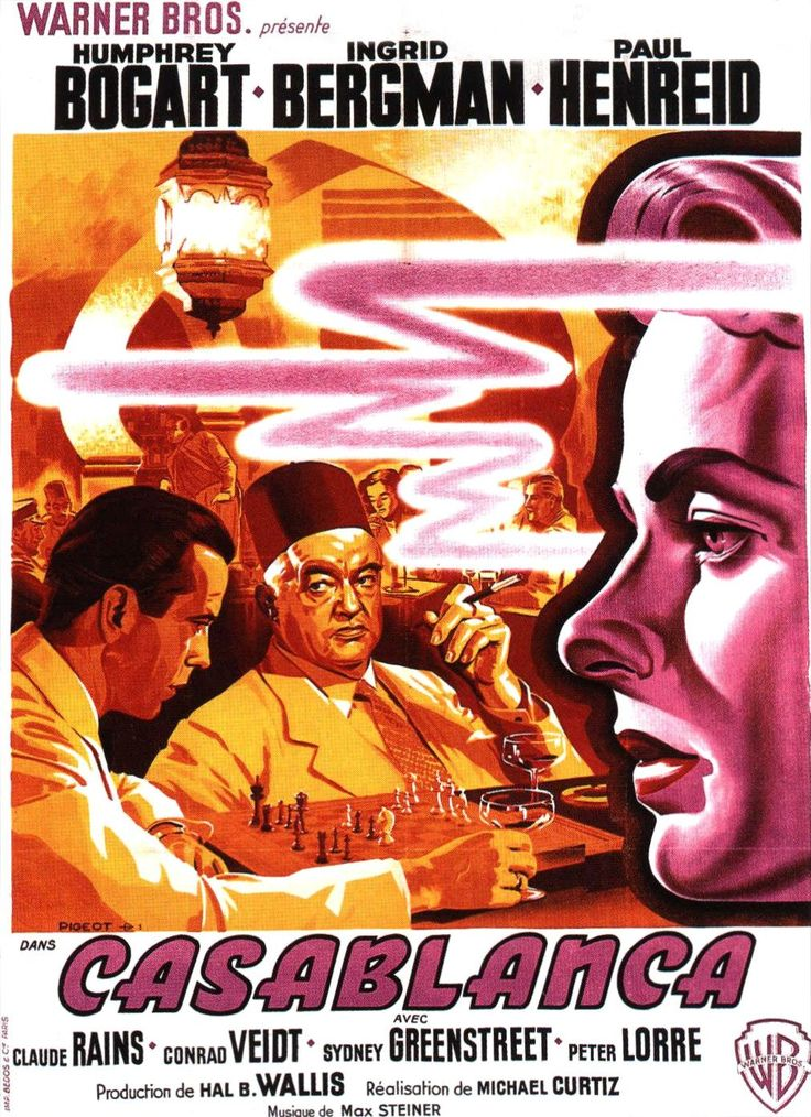 Return to the main poster page for Casablanca