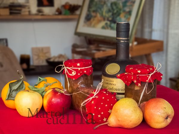 RUMTOPF #liquore #rum #frutta #natale #regalo #dopopasto