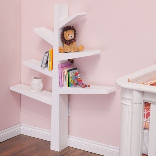 Babyletto Tree Bookcase - White - Nursery Furniture at Hayneedle