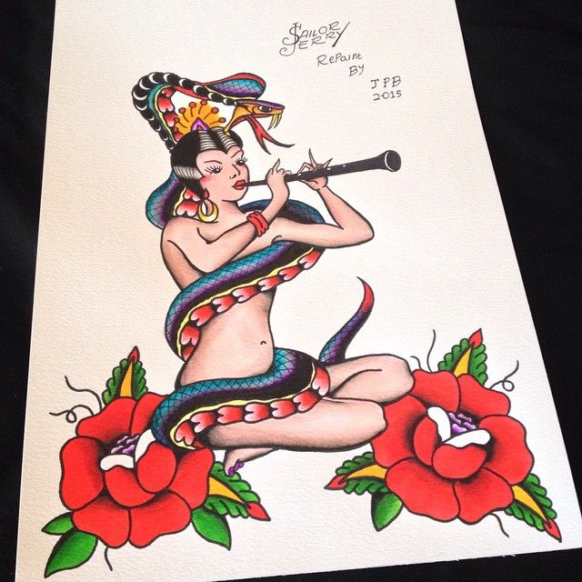 150 Traditional Old School Tattoo Designs awesome  Check more at http://fabulousdesign.net/old-school-tattoos/